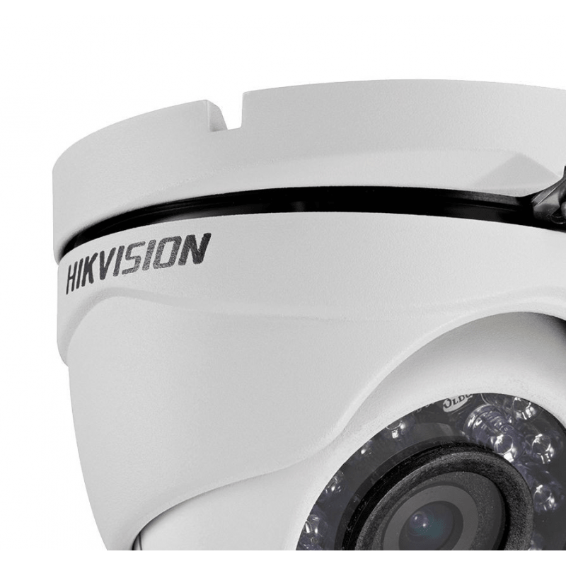 Câmera Hikvision Dome HD-TVI Turbo HD (1.0MP | 720p | 2.8mm | Metal)