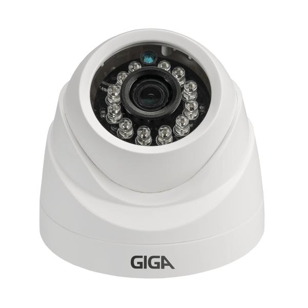 Câmera Giga GS0001 Dome Analógica 960 Plus IR 20M (960TVL | 494p | 3.2mm | Plast)  - CFTV Clube | Brasil
