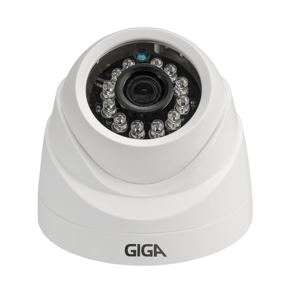 Câmera Giga GS0019 Dome Open HD Orion IR 20M UTC DWDR (1.0MP | 720p | 2.6mm | Plast)  - CFTV Clube | Brasil