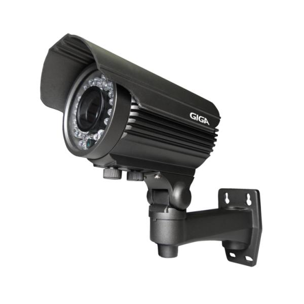 CÂMERA GIGA GS0043 BULLET VARIFOCAL OPEN HD SONY EXMOR IR 50M IP66 (4.0MP | 1080P | 2.7~13.5MM | METAL)  - CFTV Clube | Brasil