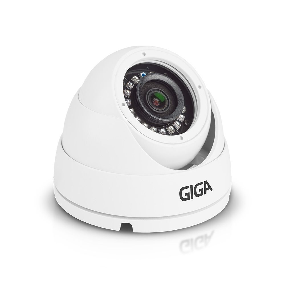 Câmera Giga GS0046 Dome Open HD Orion IR 30M UTC DWDR (5.0MP | 2048p | 3.6mm | Metal)  - CFTV Clube | Brasil