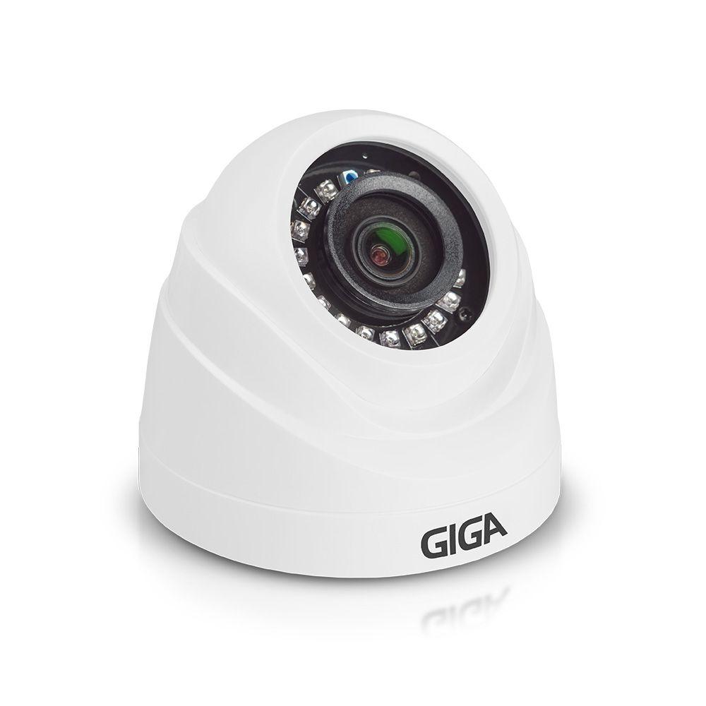 Câmera Giga GS0054 Dome Open HD Sony STARVIS IR 20M (2.0MP | 1080p | 3.6mm | Plástico)  - CFTV Clube | Brasil