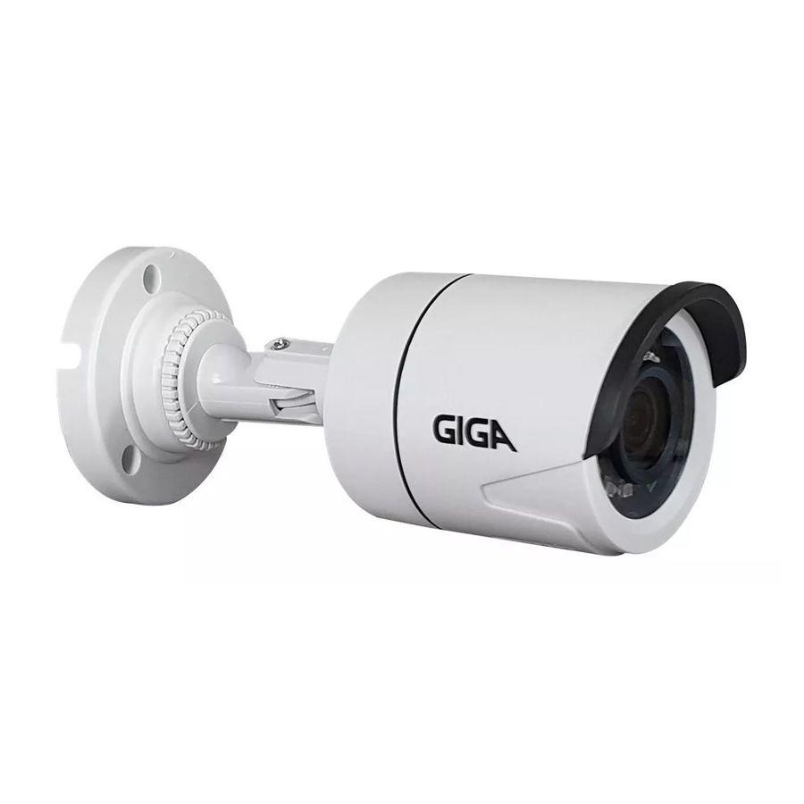 Câmera Giga Security GS0055 Bullet Open HD Sony Super Starvis (2.0MP | 1080p | 3.6mm | Plástico)  - CFTV Clube | Brasil