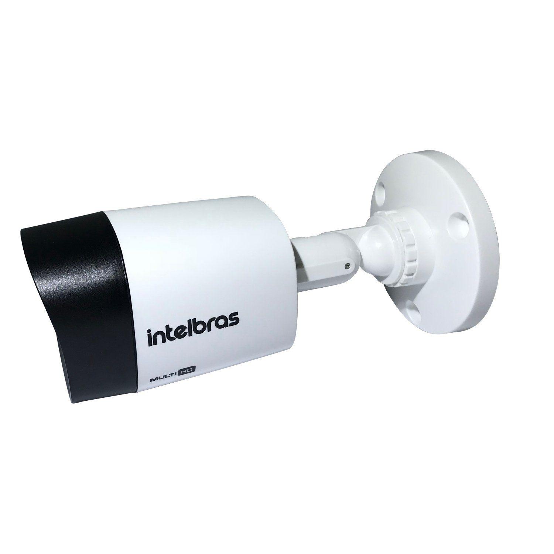 Câmera Intelbras Bullet Multi HD 1220B G4 Full HD (2.0MP | 1080p | 3.6mm | Plast)  - CFTV Clube | Brasil