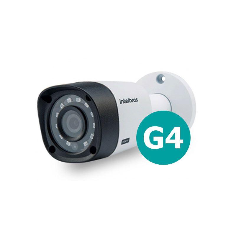 Câmera Intelbras Bullet Multi HD 3120B G4 Alta Definição (1.0MP | 720p | 2.8mm | Metal)  - CFTV Clube | Brasil