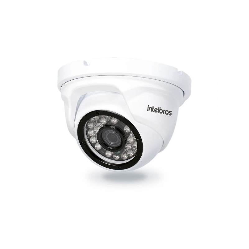 Câmera Intelbras Dome Onvif IP VIP1120D G3 (1.0MP | 720p | 3.6mm | Plast)