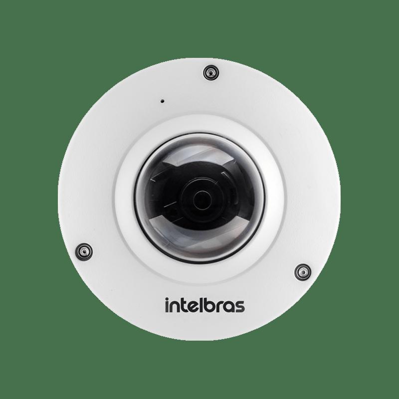 Câmera Intelbras Dome IP VIP 5500 F  (5.0MP | 2048p | FishEye)  - CFTV Clube | Brasil