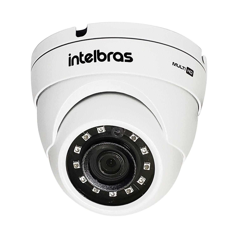 Câmera Intelbras Dome Multi HD 3120D G5 Alta Definição (1.0MP | 720p | 2.6mm | Metal)  - CFTV Clube | Brasil