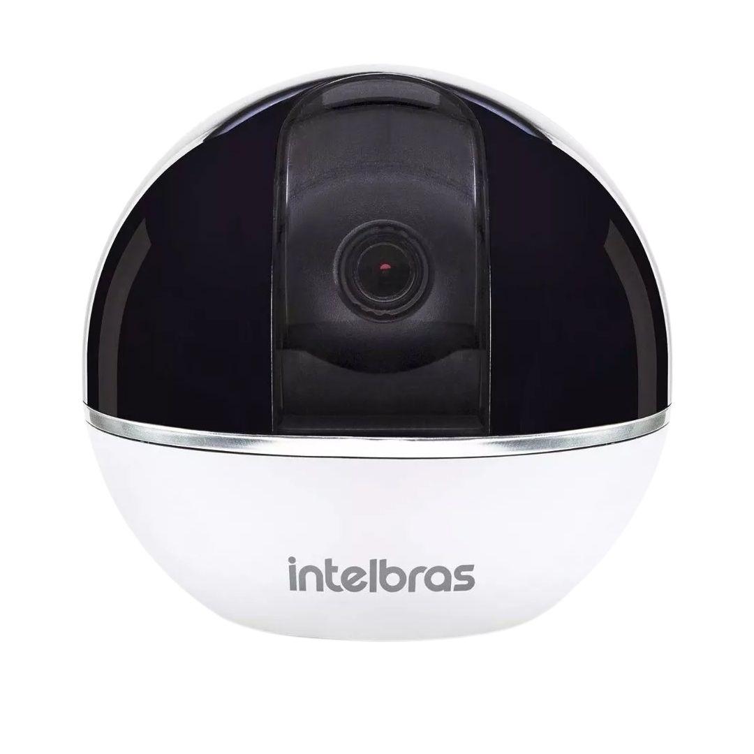 Câmera Intelbras Sem Fio IP Mibo IC7s Full HD 360º c/ Alarme Integrado (2.0MP | 1080p | Metal)  - CFTV Clube | Brasil