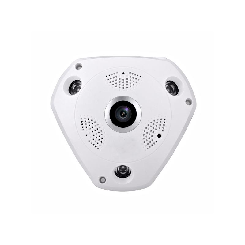Câmera VRCAM IP Panorâmica Alta Definição (1.3MP | 960p | 360º | Plast)  - CFTV Clube | Brasil