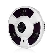 Câmera VRCAM AHD Panorâmica Alta Definição (1.3MP | 960p | 270º | Plast)  - CFTV Clube | Brasil