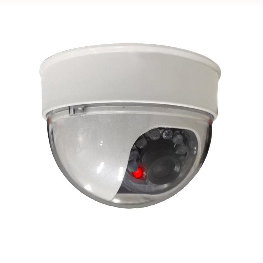 Câmera Security Parts Dome Falsa 3 Polegadas com Led Bivolt  - CFTV Clube | Brasil
