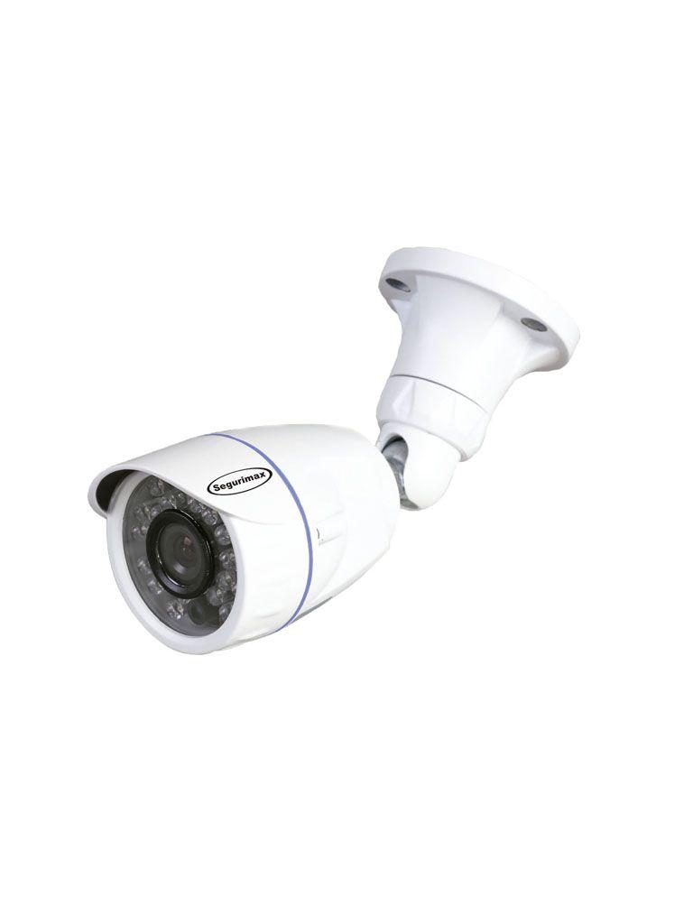 Câmera Segurimax Bullet 4 em 1 HD Lente Aberta (1.0MP | 720p | 2.8mm | Metal)  - CFTV Clube | Brasil