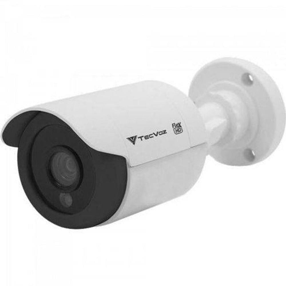 Câmera Tecvoz Bullet Flex HD CCB-128P Alta Definição (1.0MP | 720p | 2.8mm | Plástico)  - CFTV Clube | Brasil