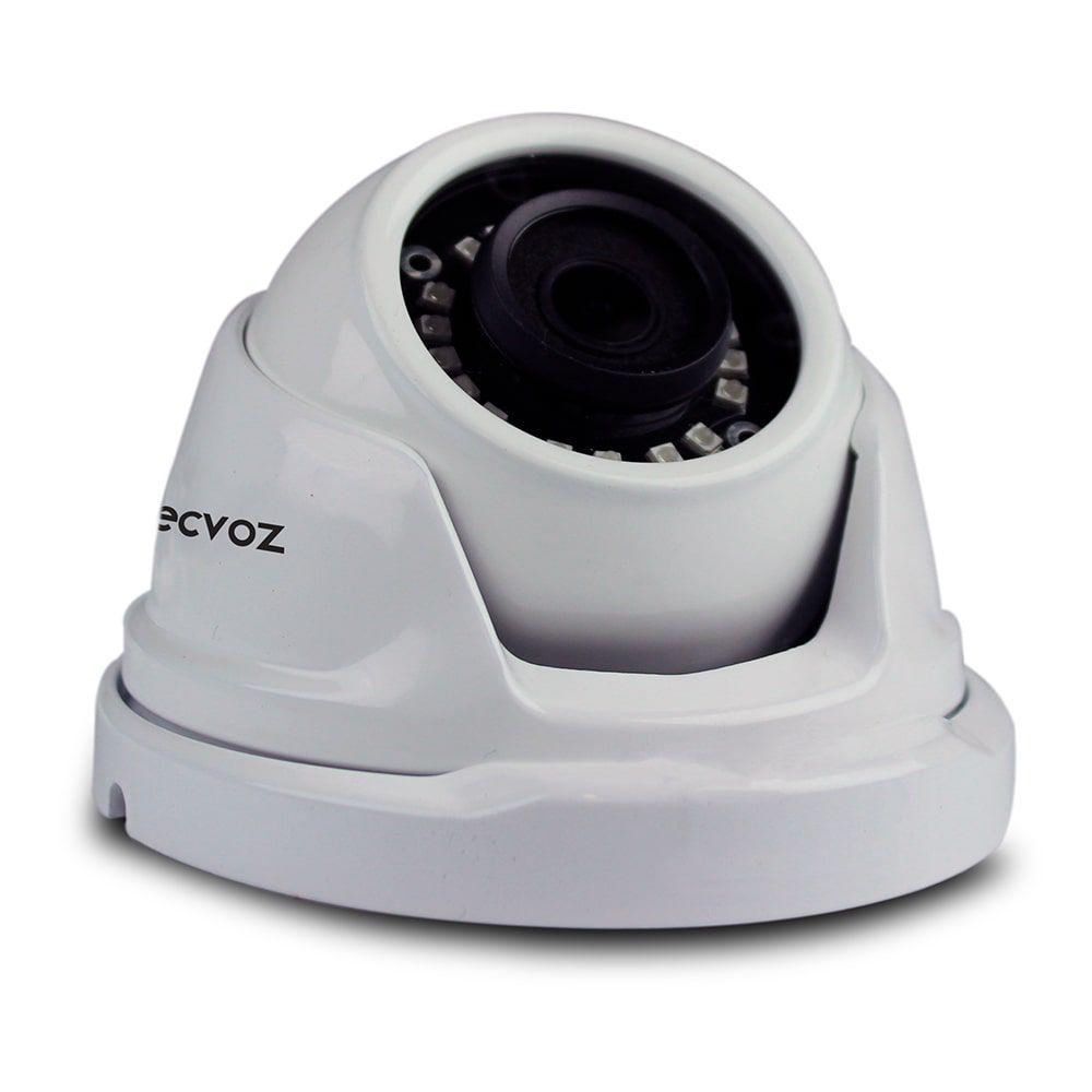 Câmera Tecvoz Dome Flex HD DM228P Full HD (2.0MP | 1080p | 2.8mm | Plástico)  - CFTV Clube | Brasil