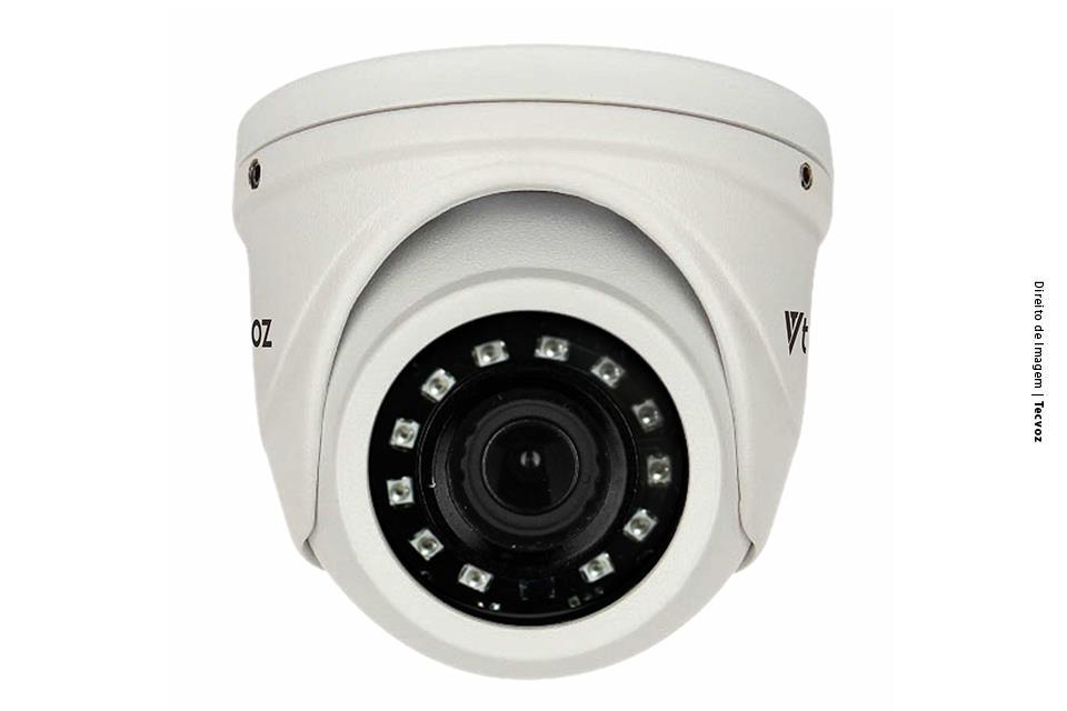 Câmera Tecvoz Mini Dome Flex HD QDM-236M Full HD (2.0MP | 1080P | 3.6mm | Metal)  - CFTV Clube | Brasil