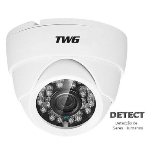 Câmera TWG Dome TW-7605 AD XVI-AHD/CVI/TVI (1.0MP | 720P | 2.8mm | Plástico)  - CFTV Clube | Brasil