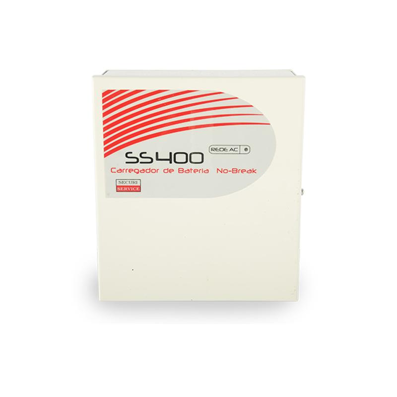 Carregador de Bateria SS400 - 3A  - CFTV Clube | Brasil
