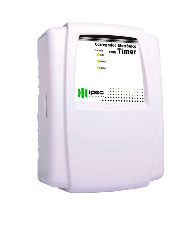 Carregador Eletrônico IPEC Digital com Timer Programável 2A  - CFTV Clube | Brasil