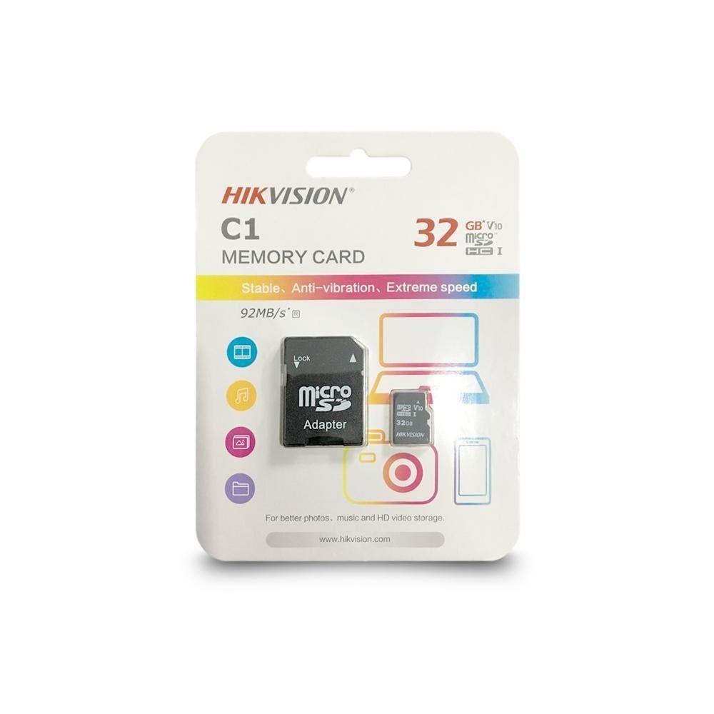 Cartão de Memória Micro SD 32GB Hikvision  - CFTV Clube | Brasil