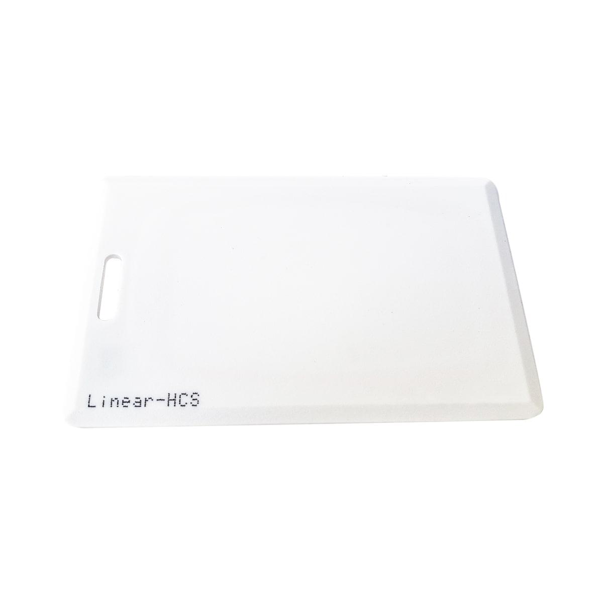 Cartão de Proximidade Clamshell Linear-HCS - Kit 10 peças  - CFTV Clube | Brasil