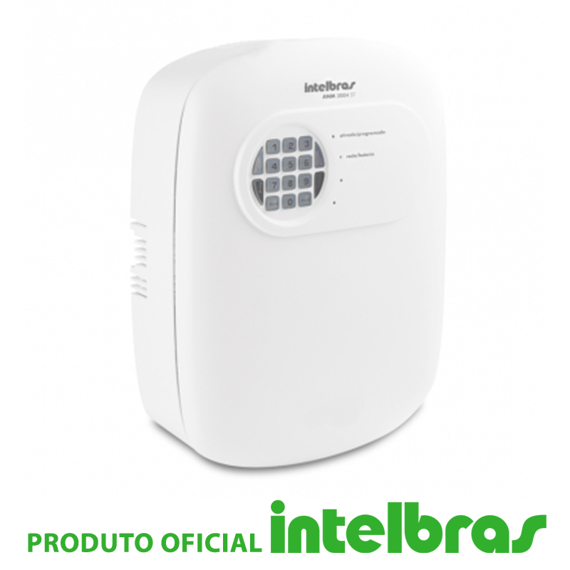 Central de Alarme Intelbras 3004 ST Plus
