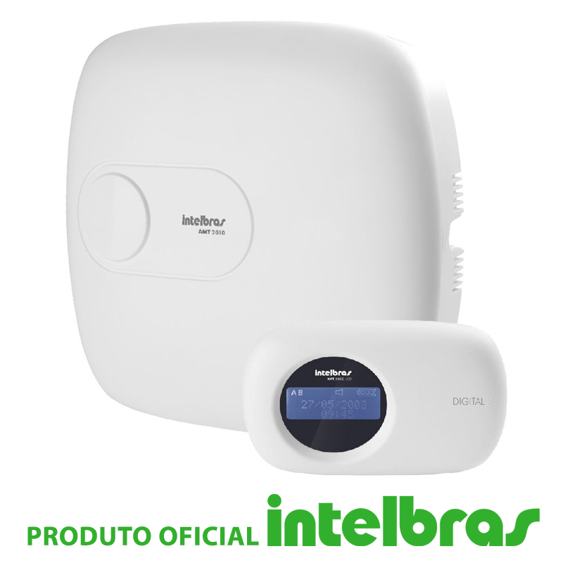 Central de Alarme Intelbras Monitorada AMT 2010  - CFTV Clube | Brasil