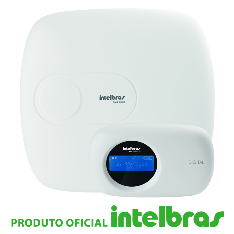 Central de Alarme Intelbras Monitorada AMT 2018EG  - CFTV Clube | Brasil