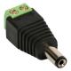 Kit c/ 10 Unid. Conector P4 Macho com Borne para CFTV com Indicadores de Posivito e Negativo  - CFTV Clube | Brasil