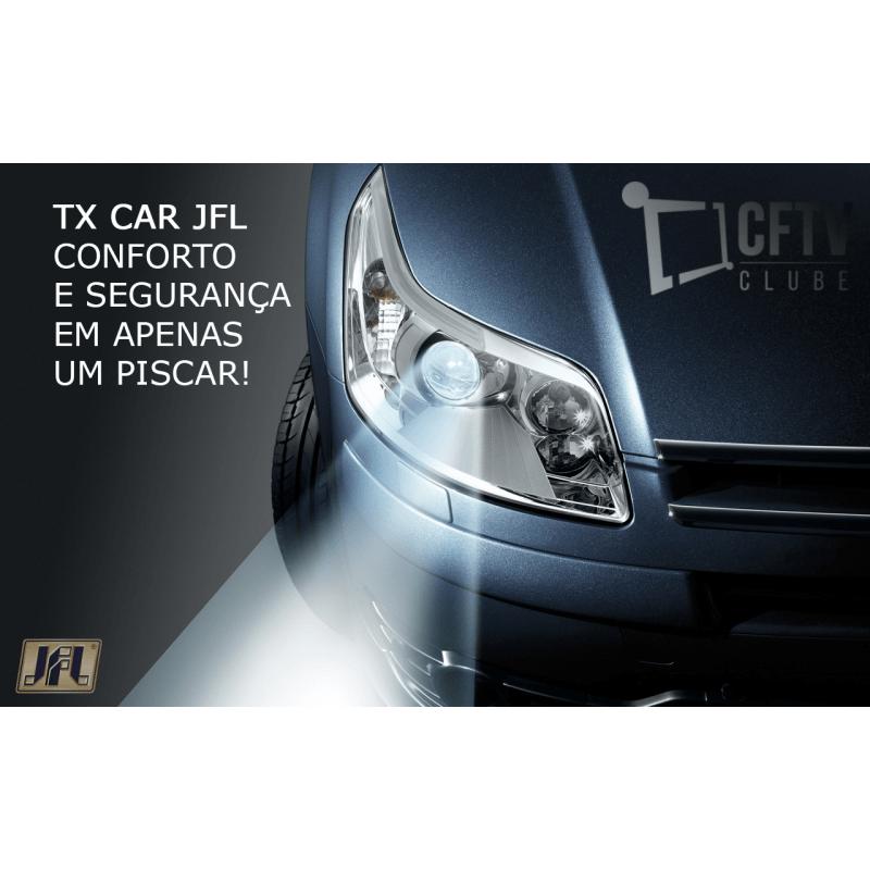 Controle Remoto Tx Car 3.0 JFL  - CFTV Clube | Brasil
