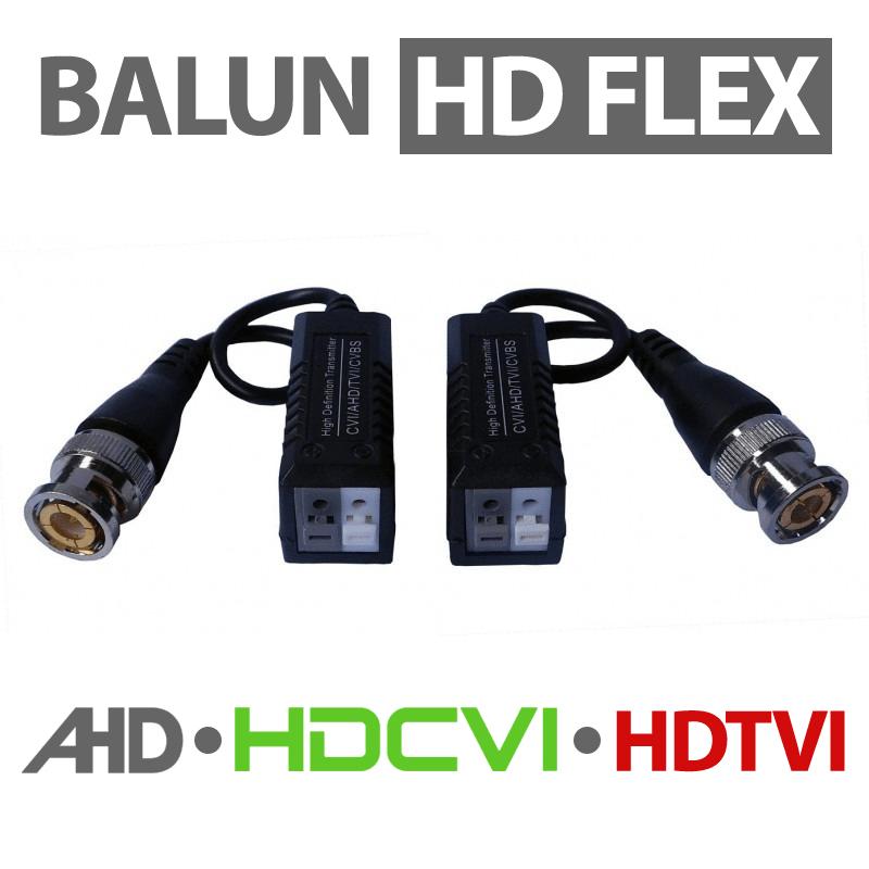Conversor Balun CFTV para Cabo de Rede Par Trançado (utp, ctp) para Uso em Câmeras HD  (AHD, HDCVI, HDTVI)  - CFTV Clube | Brasil