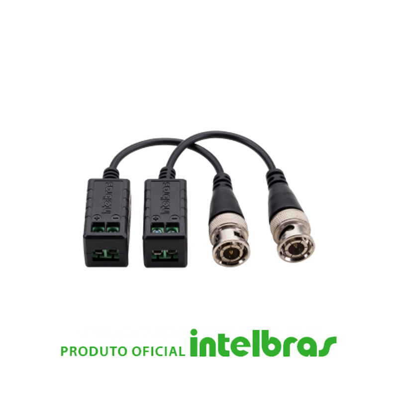 Conversor HD Vídeo Balun XBP 400 HD - Intelbras  - CFTV Clube | Brasil