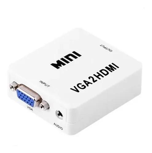 Conversor HDMI para VGA  - CFTV Clube | Brasil