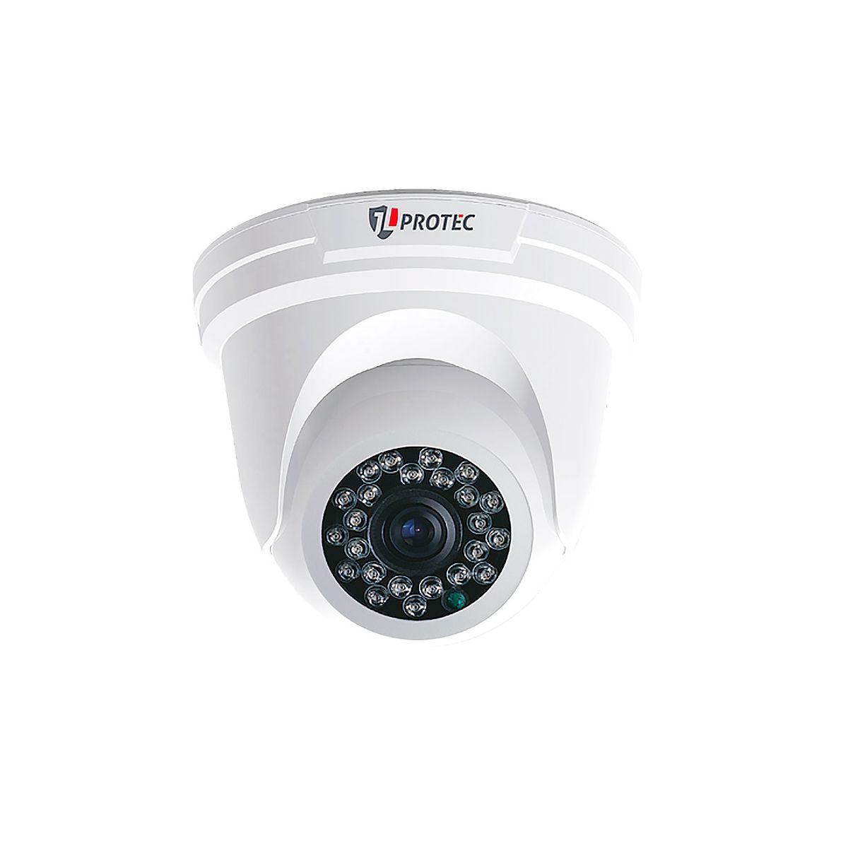Câmera JL Protec Dome Analógica (1000TVL | Analógica | 1/3 | Plástico)  - CFTV Clube | Brasil