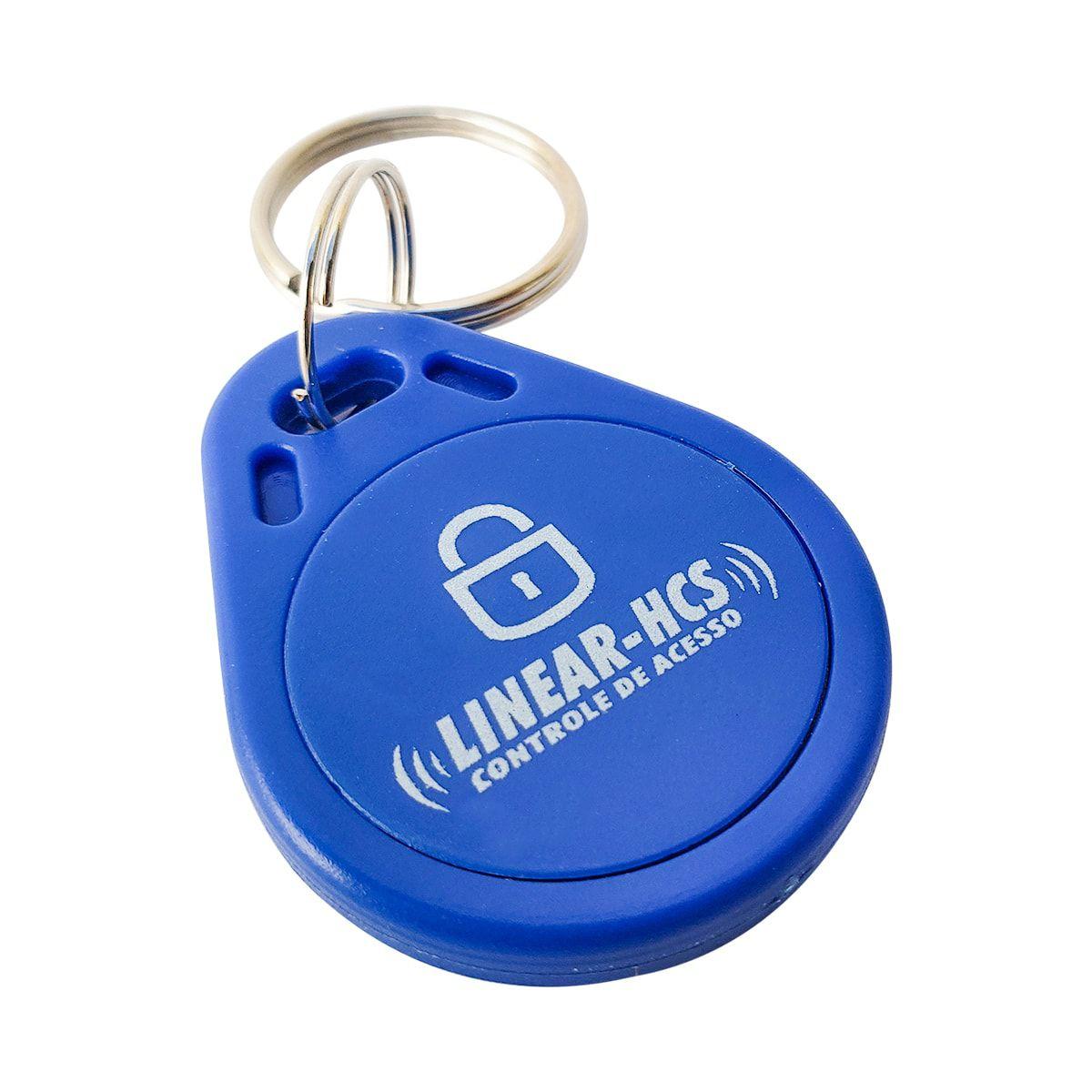 Dispositivo Linear Chaveiro Azul LF 125 KHZ - Kit com 10 Unidades  - CFTV Clube | Brasil