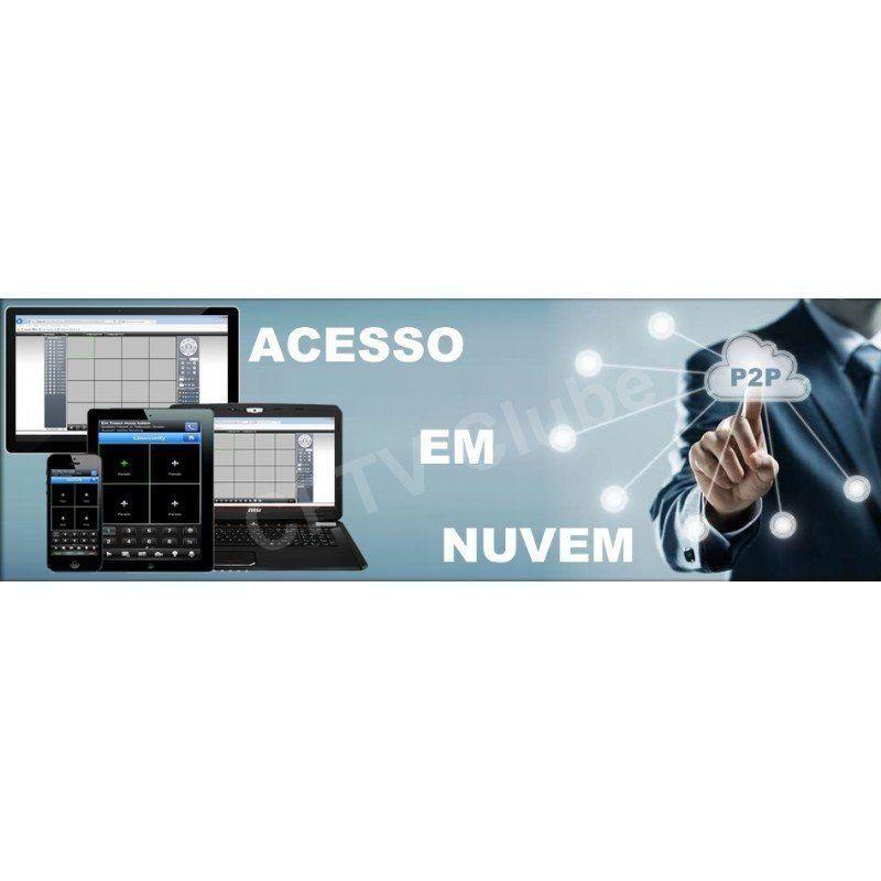 Dvr all hd 5 em 1 luxvision 8 canais - serie 9800a  - CFTV Clube | Brasil
