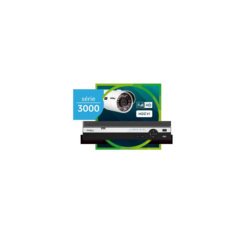 DVR Intelbras 08 Canais Multi HD Full HD MHDX 3008  - CFTV Clube | Brasil