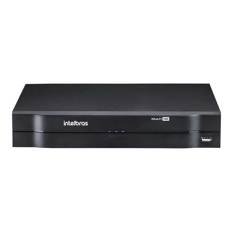 DVR Intelbras 04 Canais Multi HD Alta Resolução MHDX 1104  - CFTV Clube | Brasil