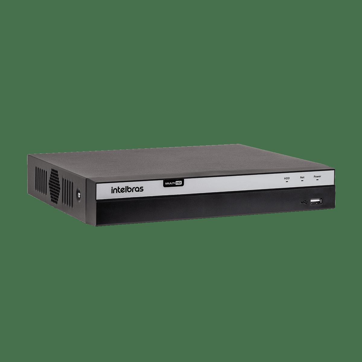 DVR Intelbras 08 Canais Multi HD Full HD MHDX 3108 H.265  - CFTV Clube | Brasil