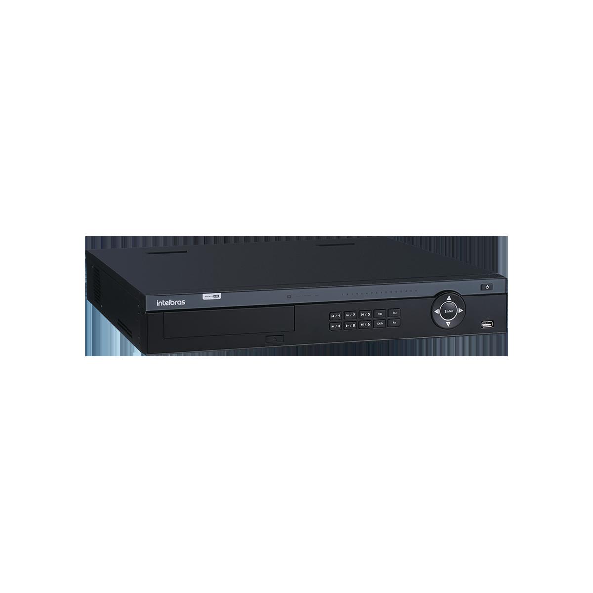 DVR Intelbras 32 Canais MHDX 7132  - CFTV Clube | Brasil
