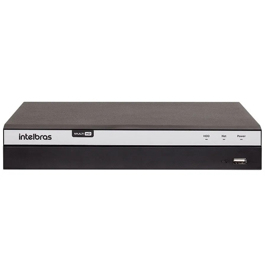 DVR Intelbras MHDX 3104 04 Canais Multi HD Full HD  - CFTV Clube | Brasil
