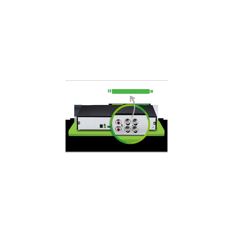 DVR Intelbras 04 Canais Multi HD Alta Resolução MHDX 1004  - CFTV Clube | Brasil