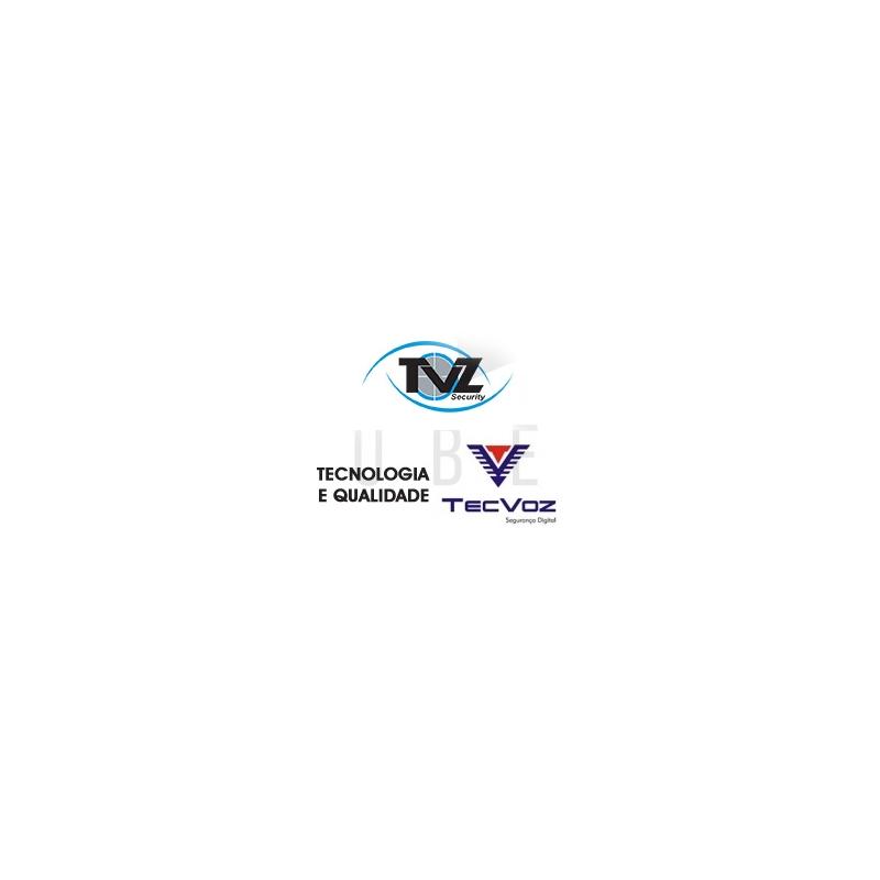DVR TVZ 16 Canais Flex HD Alta Resolução 4VR-2016  - CFTV Clube | Brasil