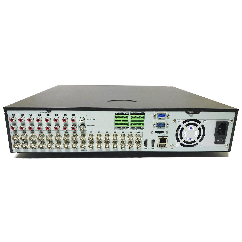 DVR Tecvoz 32 Canais Flex HD Linha Inteligente TV-P5432  - CFTV Clube | Brasil