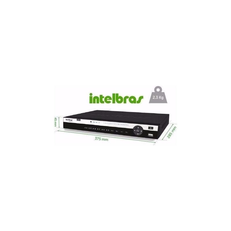 DVR Intelbras 32 Canais HDCVI Alta Resolução  - CFTV Clube | Brasil