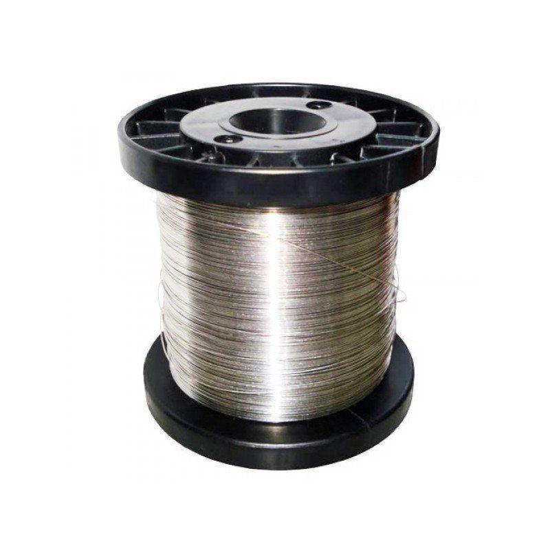Fio de Aço Inox para Cerca Elétrica 0,45mm - 390 Metros  - CFTV Clube | Brasil
