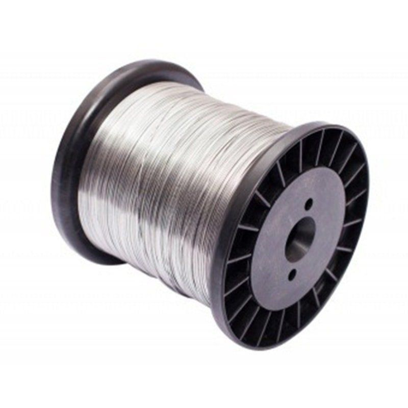 Fio de Aço Inox para Cerca Elétrica 0,70mm - 270 Metros  - CFTV Clube | Brasil