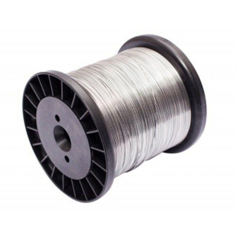 Fio de Aço para Cerca Industrial 1,20mm Inox, Galvanizado, Gavalum - Aprox. 110 Metros  - CFTV Clube | Brasil
