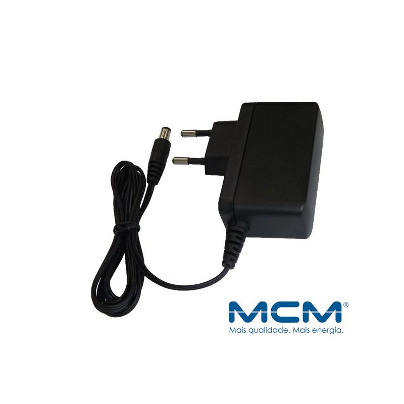 Fonte MCM Eletrônica Estabilizada 12v / 1A  - CFTV Clube | Brasil