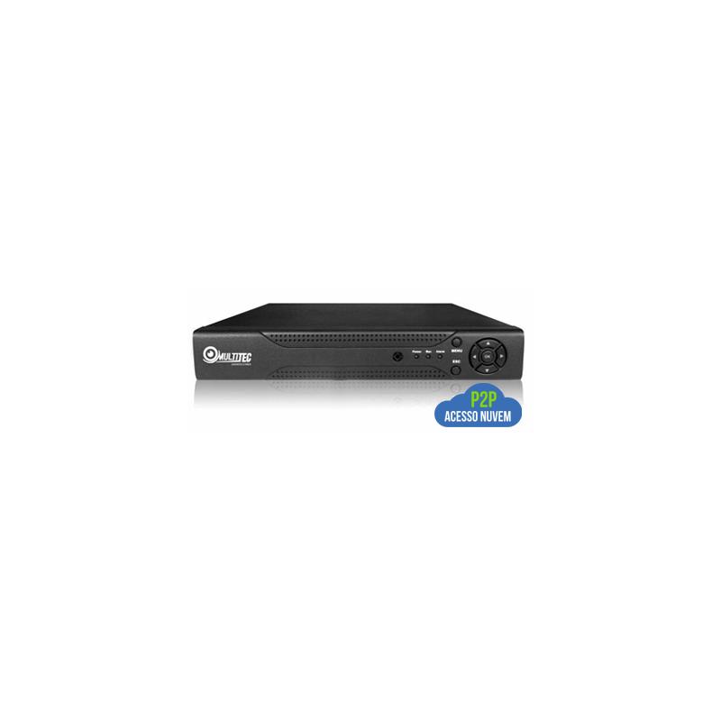 Gravador full hd - 1080p - 8 canais multitec ahd-h híbrido 3 em 1  - CFTV Clube | Brasil